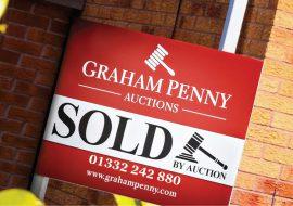 Sold board Derby