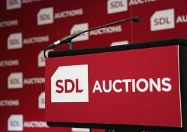 SDL Auctions podium