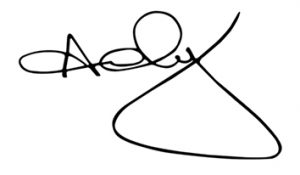 Andy Thompson Signature