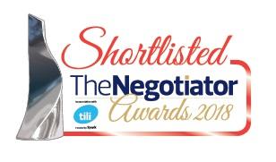 Negotiator Shortlisted logo