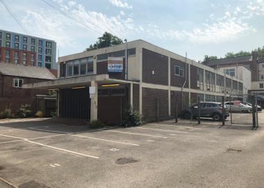 Agard Street Development Site in Derby